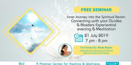 Free Seminar & Experiential Session – Inner Journey Into The Spiritual Real tickets