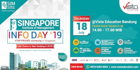 Study in Singapore Info Session Ft Singapore Institute of Management Bandung tickets