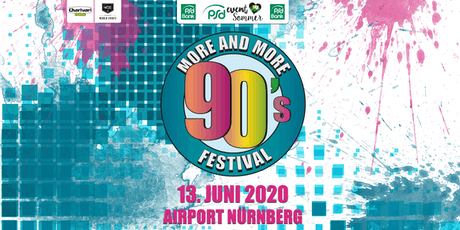 MORE AND MORE 90's Festival Tickets