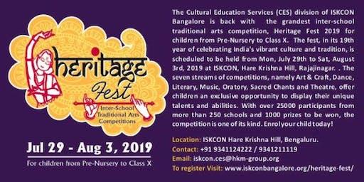 ISKCON HERITAGE FEST 2019