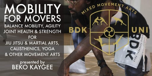 Mobility & Animal Locomotion Workshop with Beko Kaygee