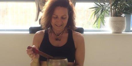 Tibetan Sound Bowls Healing & Yin Class tickets