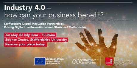 Industry 4.0 - How can your business benefit? tickets