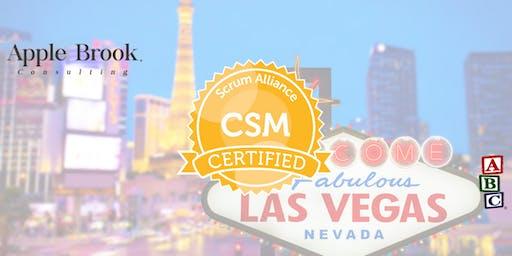 Certified ScrumMaster® (CSM) - Las Vegas - December 19-20