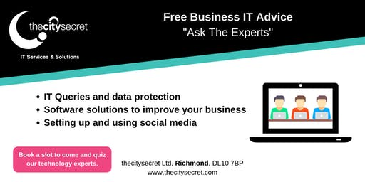 Ask the Experts - Free Business IT Advice