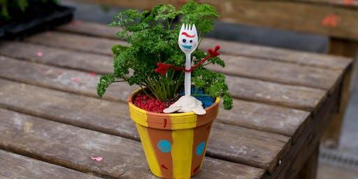 Forky Planter - July 17 @ 10 AM