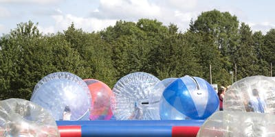 Summer Holiday iZorb + Water Zorbing at the Farm Shop