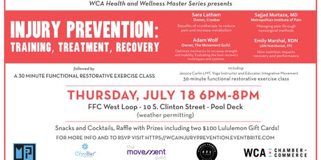 Injury Prevention: Training, Treatment, Recovery tickets