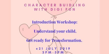 Parent and Child Workshop: Character Building (For everyone) tickets