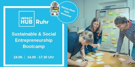 Sustainable & Social Entrepreneurship Bootcamp tickets