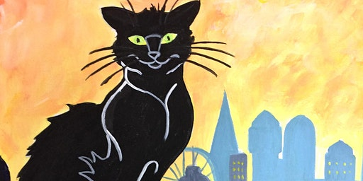 CANCELLED - Paint Chat Noir in London! + Prosecco!