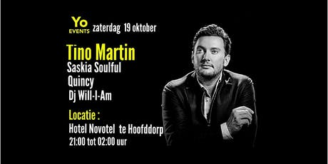 Tino Martin bij Yo Events tickets