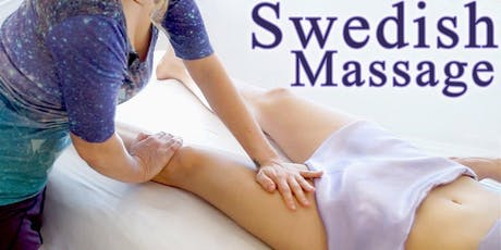 Swedish Massage Therapist  £25  for 1 hour special limited offer tickets