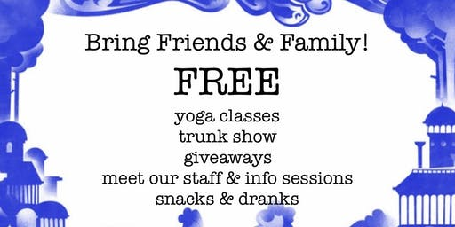 Open House at Yoga Chikitsa