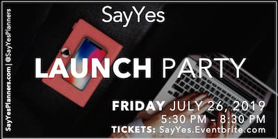 SayYes Launch Party: SayYes Planners have arrived!