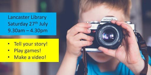 Children's Digital Storytelling Workshop at Lancaster Library