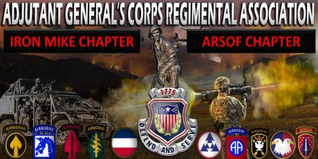 """2019 Fort Bragg Adjutant General's Corps Ball ~ """"It Starts Here!"""" tickets"""