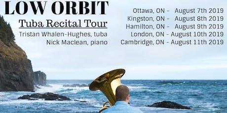 Low Orbit Tuba Recital - Kingston, ON tickets