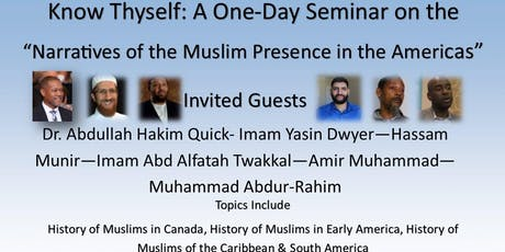 Narratives of the Muslim Presence in the Americas; VA program tickets
