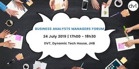 Business Analysts Managers Forum tickets