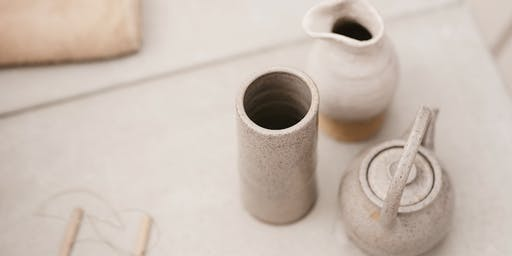 Not Yet Perfect- Pottery Hand building Workshop, Mug Making Workshop