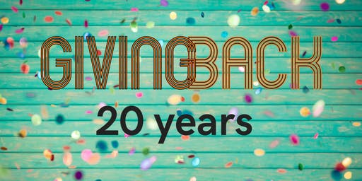 20 Jaar Giving Back | Lustrum