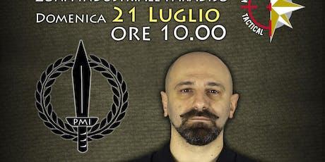 Seminario Pugnale Militare Italiano biglietti