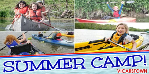 SVT Canoeing & Kayaking Summer Camp