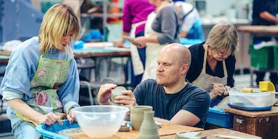 Plymouth College of Art - 10 week Pot Throwing for Beginners - Wednesday