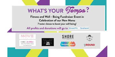 What's Your Tempo?  7 Fitness and Well-Being classes - Fundraiser Event