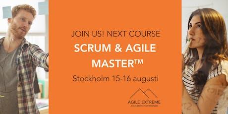 Scrum & Agile Master™ tickets