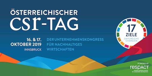 Österreichischer CSR-Tag 2019