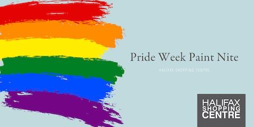 Pride Week Paint Nite