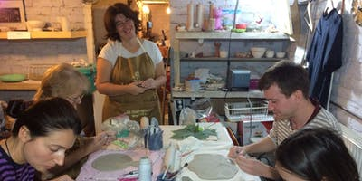 Pottery course in Brussels - TUES 18h00 - 20h00