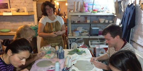 Pottery course in Brussels - TUES 18h00 - 20h00 tickets