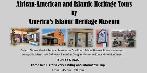 Cultural Heritage Tour to Annapolis, Maryland and the Eastern Shore