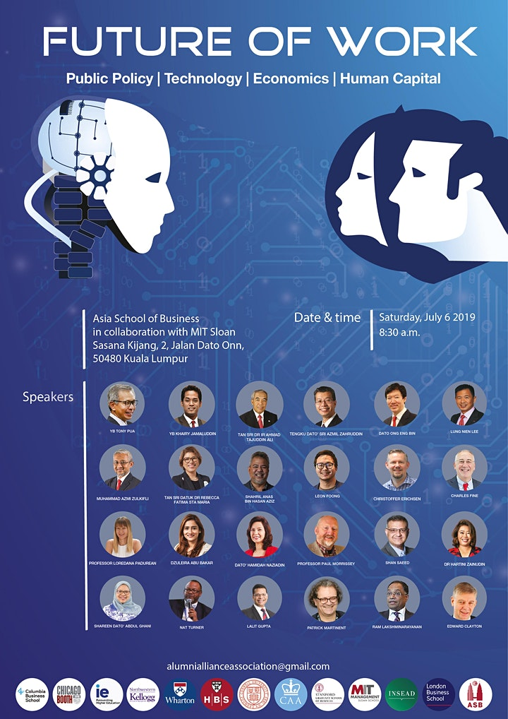 """""""FUTURE OF WORK CONFERENCE"""" curated by Alumni Alliance image"""