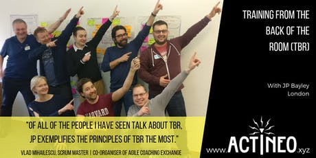 Training from the BACK of the Room! (TBR) | London tickets