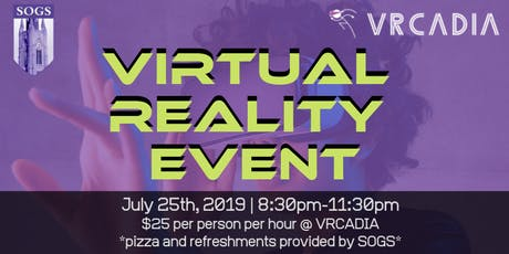 VIRTUAL REALITY EVENT tickets