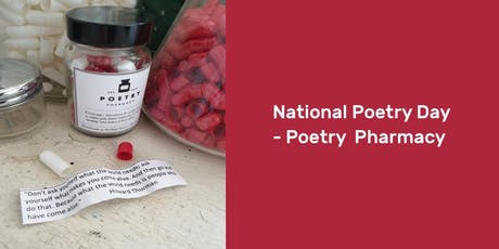 National Poetry Day – Poetry Pharmacy tickets