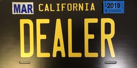 DMV Auto Broker Car Dealer School - TriStar Motors - San Diego tickets