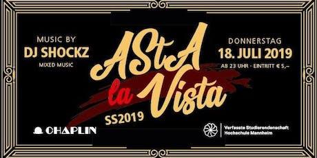 ASTA La Vista - die Asta Hochschule Mannheim Party Tickets