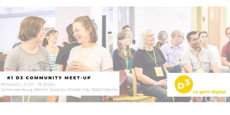 #1 D3 - Community Meet-Up tickets