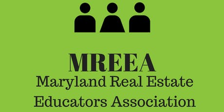 MREEA - Updates to the Maryland REALTORS forms tickets