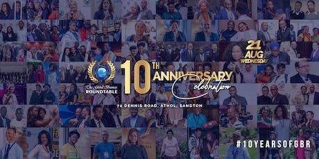 GBR 10th Anniversary  Celebration tickets