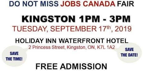 FREE: Kingston Job Fair –September 17th, 2019 tickets