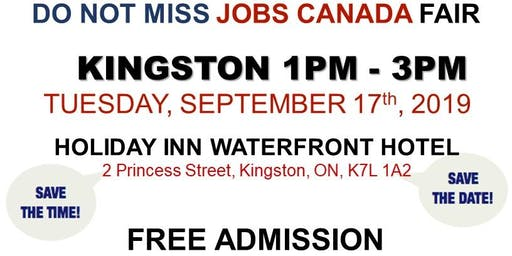FREE: Kingston Job Fair –September 17th, 2019