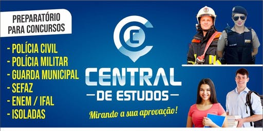 SIMULADO SOLIDÁRIO FOCO PMAL - CENTRAL DE ESTUDOS MCZ