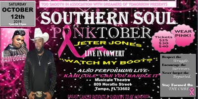 TOO SMOOTH PINKTOBER SOUTHERN SOUL CANCER BENEFIT CONCERT