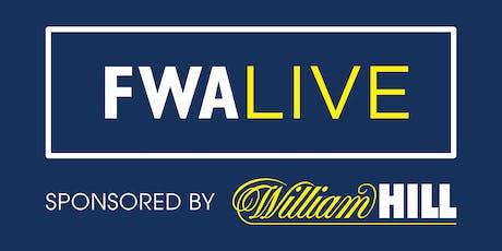 FWA 2019/2020 Season Preview tickets